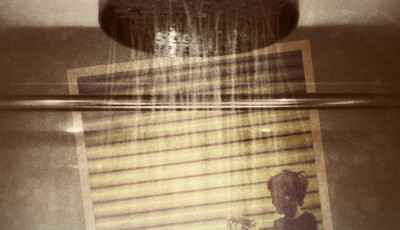 iPhoneography - Blowing Bubbles in the Shower