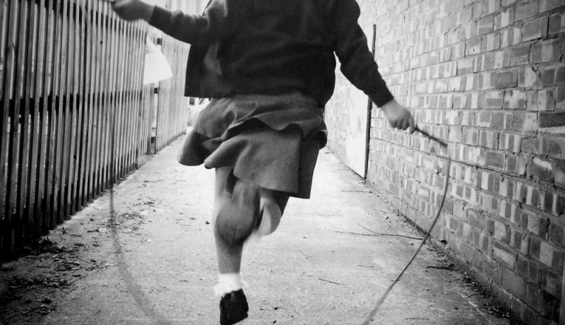 Skipping - iPhone photography