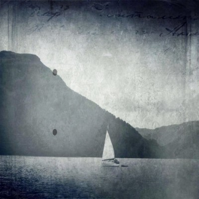 iPhoneography - yacht on lake ullswater