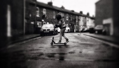 iPhoneography - urban scooter
