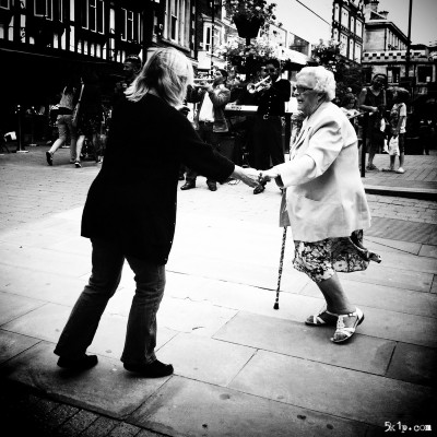 Dancing On Lincoln High Street