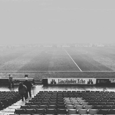 After the match - fog - iPhone photography