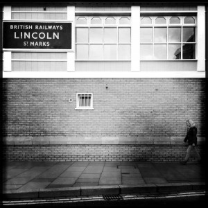 british railways - lincoln st marks