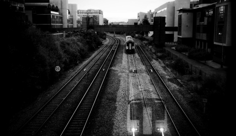 Ghost train – ethereal iPhoneography processing
