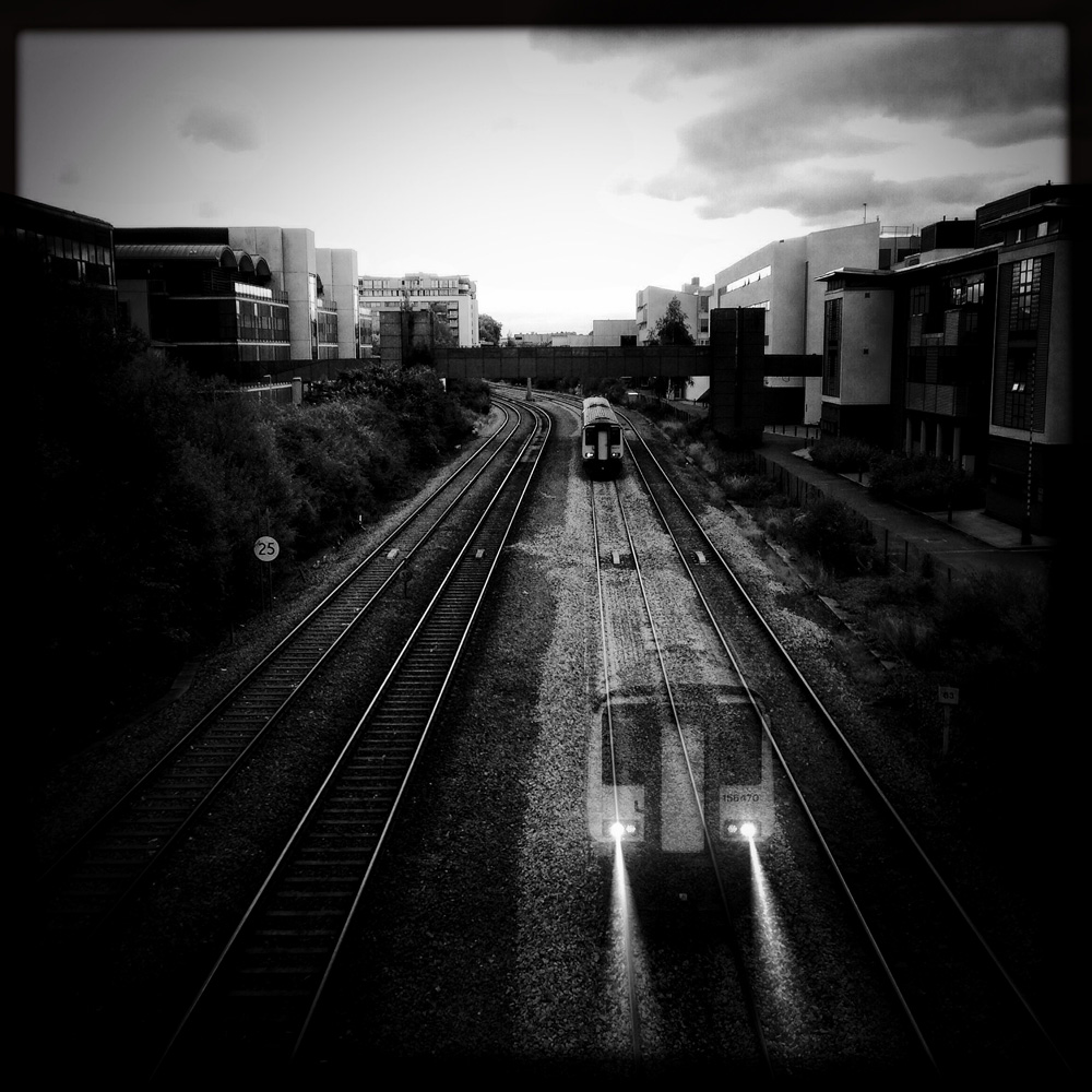 ghost train - ethereal iPhoneography